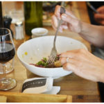 Salades et vins